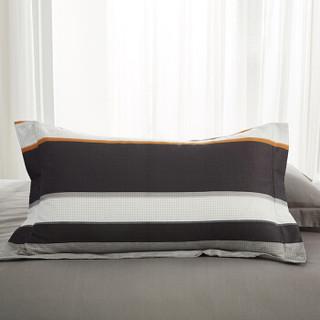 九洲鹿 套件家纺 全棉床上用品斜纹印花单人学生三件套 床单被套 西雅图 1.2米床 150*200cm
