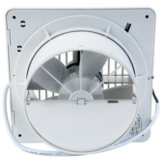 金羚(JINLING)排气扇卫生间厨房换气扇静音排风扇墙窗式6寸APC15-2-2H
