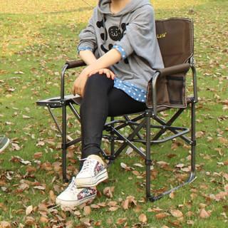 喜马拉雅导演椅 折叠椅 户外便携折叠椅 休闲椅写生椅钓鱼椅子 咖啡色HF9522