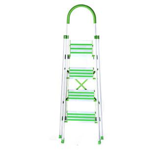 怡奥  梯子家用 人字梯折叠 铝合金四步家用梯子
