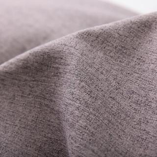 LUCKYSAC 简约大号单人沙发 细绒棉麻 暖灰色