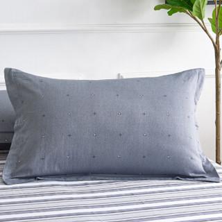 北极绒(Bejirog)套件家纺 北欧ins风纯棉全棉磨毛印花四件套 双人床单被套 1.5/1.8米床 被套200*230cm