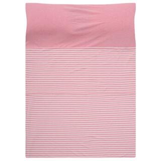 网易严选 可裸睡纯棉便携睡袋 旅行出差宾馆酒店床单枕套隔脏防脏 粉色 单人