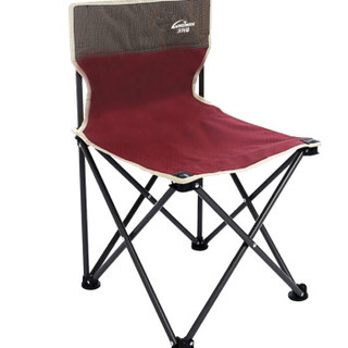 Voortman 沃特曼 沃特曼Whotman折叠椅靠椅沙滩椅钓鱼椅便携式休闲椅户外折叠椅子WY2147 深红色