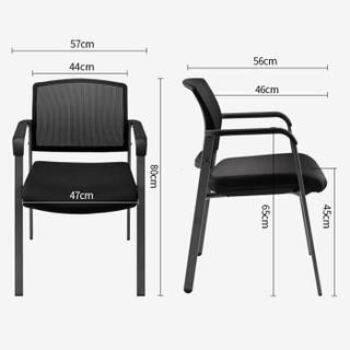 永艺/UE 电脑椅子 办公椅 会议椅 家用网布透气座椅 CLF-03A(AM)黑色