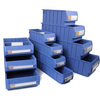 老A(LAOA)分隔式零件盒PP料收纳整理盒元件盒300x235x140mm LA13023C量大现做