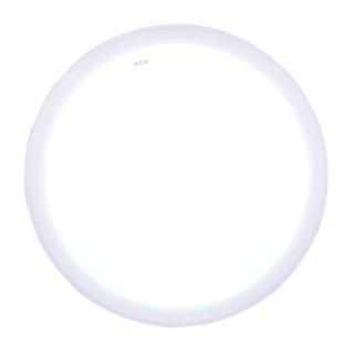 TCL 照明LED吸顶灯卧室灯阳台厨卫灯具圆形粉色直径38cm正白16W