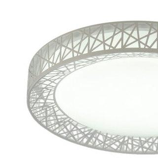 TCL led吸顶灯 现代简约卧室客厅灯 36W 圆形 白光580*115mm