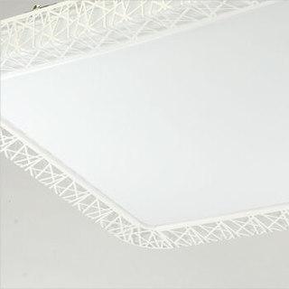 TCL led吸顶灯 现代简约卧室客厅灯 36W长方形白光643*432mm
