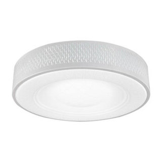nvc-lighting 雷士照明 吸顶灯客厅灯卧室灯Led灯具 可分控铁艺灯 圆形三色可调控(30W3000K+6500K)