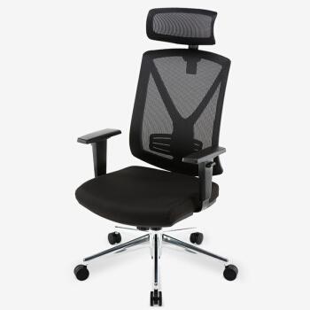 UE 永艺 MIRO-003ES 透气网布人体工学转椅 黑色