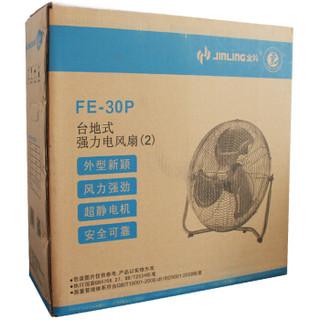 金羚(JINLING)工业台地电风扇大功率金属趴地扇 FE-30P2