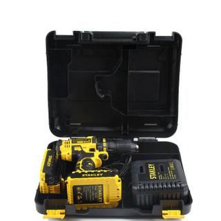史丹利(STANLEY)锂电钻家用18V手电钻 电起子充电钻SCD20C2K
