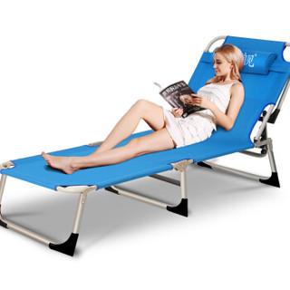 文舰 折叠床单人午休床 折叠躺椅 办公室午睡床 医院陪护床WJ-3017