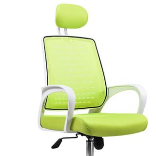 卡奈登  办公电脑椅家用升降转椅学生学习写字座椅职员网椅  X16-4  白框绿网