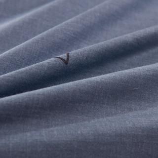艾薇 床单家纺  纯棉被单 单人学生宿舍全棉床单 单件 星海恋灰 1/1.2米床 152*210cm