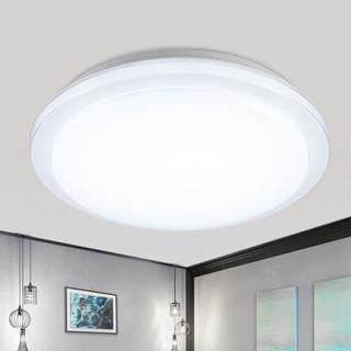 DongDong 東東 D0049-X/70W/TR 北欧风格卧室灯客厅吸顶灯创意LED灯具遥控无极调光调色(砂白) 雷士照明设计师品牌
