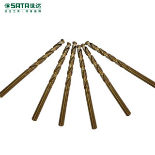 世达(SATA) 5件套直柄含钴麻花钻11.5 mm 52415 现货