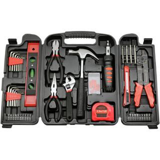 福吉斯特(Forgestar)家用五金工具维修工具套装130件多功能机修工具箱组合电工木工组套