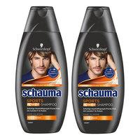 Schauma 施华蔻 男士运动型二合一洗发沐浴露 400ml *2瓶