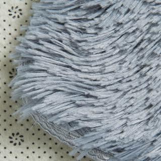南极人(NanJiren)地毯加柔长绒客厅卧室地毯 70*160cm灰色