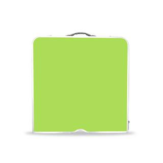 鲸伦 (KINGRUNNING)折叠桌 XQ-1654 绿色 户外便携式分体折叠桌 铝合金野餐烧烤桌子