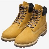 Timberland 添柏岚 男款工装靴6717B 小麦色 42