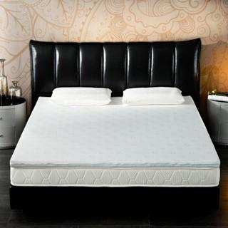 家乐美梦宝(calommb)海绵床垫 席梦思榻榻米床褥子 单 双人学生床垫 可拆洗 折叠床垫JL002 白色90*200*5cm