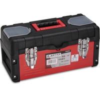 卡夫威尔 PK2619 17寸塑铁工具箱【高强度PP+钢板材质工具箱,用料扎实,坚固耐用】