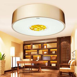 TCL LED吸顶灯 荣耀20W正白光6500K 阳台灯餐厅卧室灯饰灯具 圆形∮400X90mm