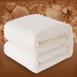 迎馨家纺 新疆棉花被 纯棉春秋被子单人4斤棉被褥子被芯四季棉胎  150*200cm
