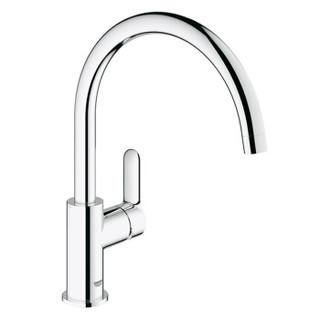 高仪(GROHE) 水槽龙头套装 意大利原装进口304DDQ不锈钢水槽双槽+厨房龙头 31508SD0+31369000
