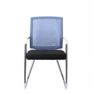 佐盛电脑椅午休椅办公椅人体工学椅家用转椅网椅时尚座椅休闲椅子蓝色