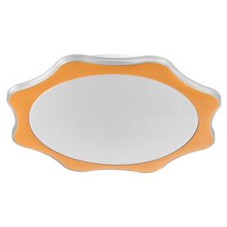 Midea 美的 LED吸顶灯 圆形三色调光 太阳荷包蛋星月 黄色 20W