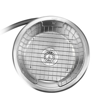 欧琳(OULIN)OLWG309水槽+龙头套餐 304不锈钢洗菜盆洗碗池 厨房圆槽