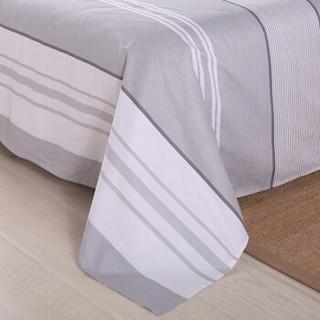 艾薇 床单家纺 全棉斜纹印花被单 双人纯棉床单 单件 日光倾城 1.5/1.8米床 230*250cm
