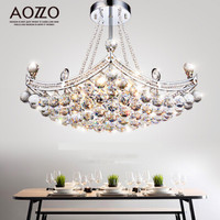 AOZZO 奥朵  CL10145/6 水晶吸顶灯 直径65高48CM