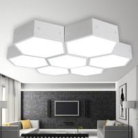 SDhouseware 首度家居 TY2302 LED吸顶灯 六角 单个正白光