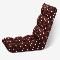 雅美乐  YS206 休闲懒人沙发 咖啡色+白点