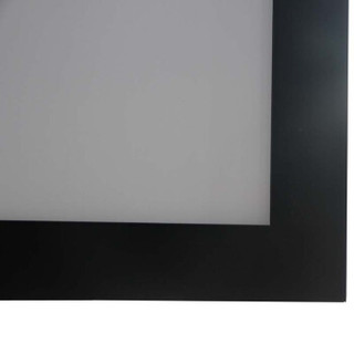 红叶(Redleaf)100英寸16:9画框投影幕(弹性白塑幕 白软幕 铝合金喷塑边框)