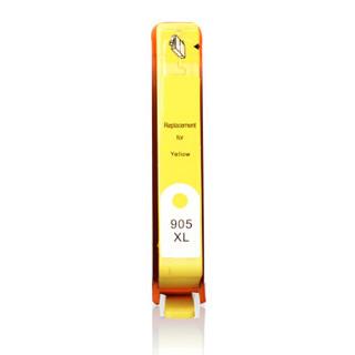 天威(PrintRite)905XL墨盒  可显示墨量 黄色适应HP OfficeJet 6960 6970 6950 6951 6954 6962 6968 墨盒