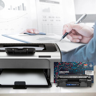 扬帆耐立CE505A硒鼓 适用惠普P2035 2055 2055X佳能LBP6300 6650 5870打印机粉盒hp05A硒鼓【进口碳粉】