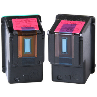 绘威HW-850/854黑彩墨盒套装(适用惠普HP851号 H470b 2578 D4168 C4188 D5168 5438 6318 K7108 7838 8038)