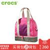 美国Crocs2018新款大容量单肩尼龙布妈妈包时尚复古休闲手提包 265元