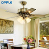 OPPLE 欧普照明 led风扇灯 铁叶42寸欧静带遥控 649元包邮