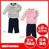 MIKIHOUSE  三木家 边缘T恤上下安排 3000日元(约185.4元)