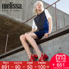 Melissa梅丽莎Jason Wu合作款交叉带粗跟搭扣凉鞋果冻鞋女鞋32226 801元