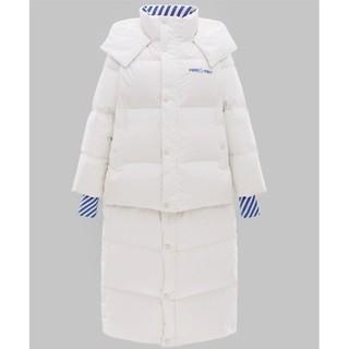 PEACEBIRD 太平鸟 AWAC84623 女士长短两穿式羽绒服
