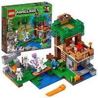 LEGO乐高 Minecraft我的世界系列 21146骷髅攻袭