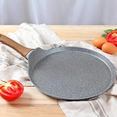 当当优品  麦饭石涂层不粘煎饼锅 28cm